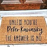 Peter Kavinsky Doormat