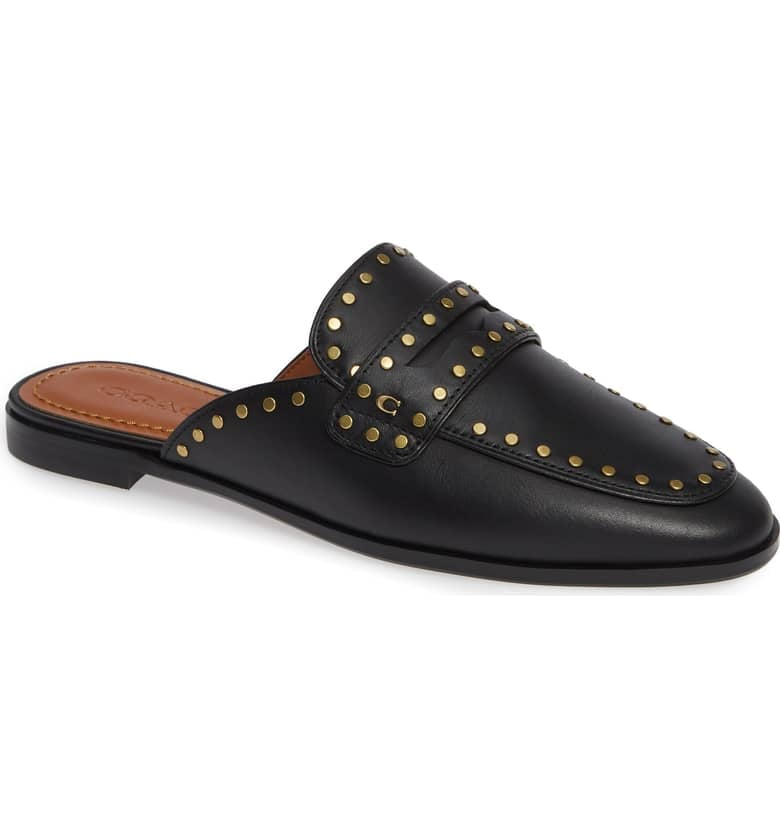 Coach Fiona Loafer Mule   Meet the