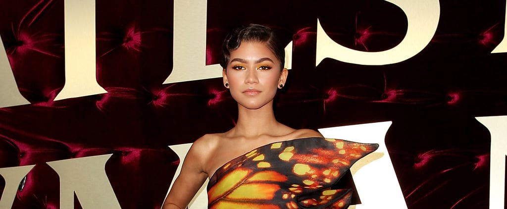 Are We Dreaming, or Did Zendaya Just Walk the Red Carpet Dressed as a Beautiful Butterfly?