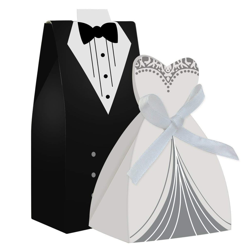 Dress And Tuxedo Candy Favour Boxes Best Wedding Favours From