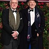 Sean Mathias and Sir Ian McKellen at the 65th Evening Standard Theatre Awards