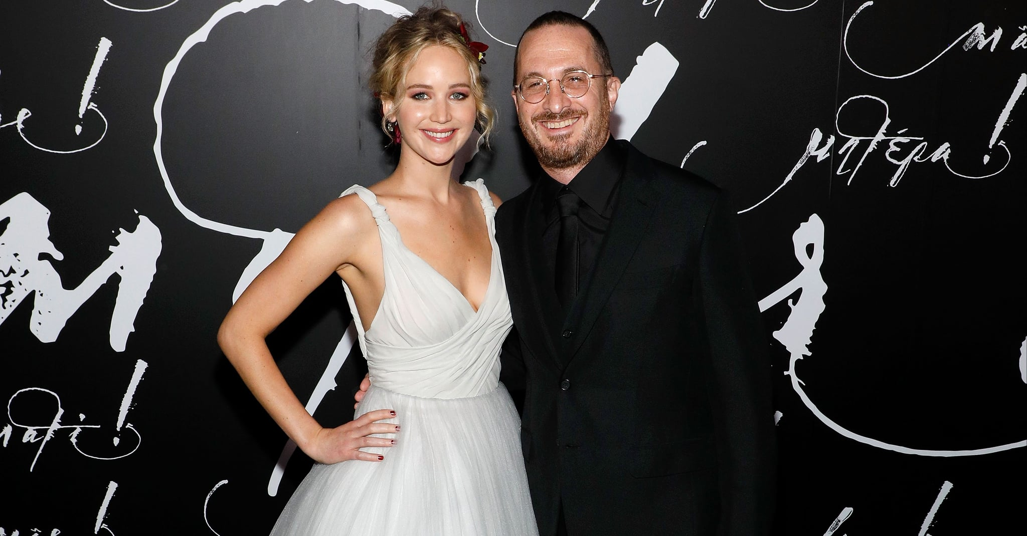 Jennifer Lawrence Is Hanging Out With Her Ex Darren Aronofsky!