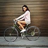 الركوب على الدراجة