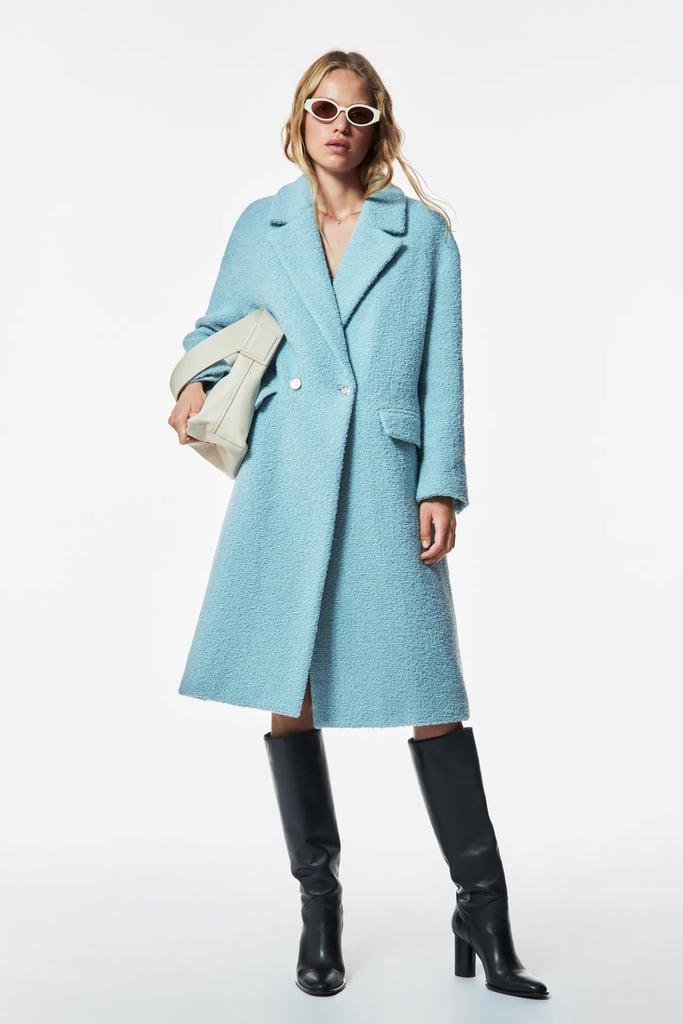 A Colorful Coat: Zara Wool Coat