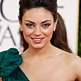 At the 2011 Golden Globes, Mila was sophisticated in a glamorous French twist and an amped-up bouffant.