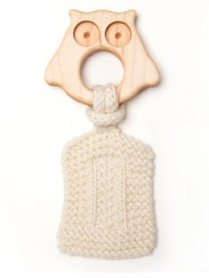 Oliver & Adelaide Infant's Owl Teether