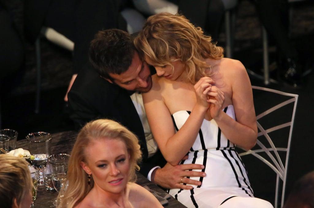 Bradley Cooper and Suki Waterhouse at the SAG Awards 2014