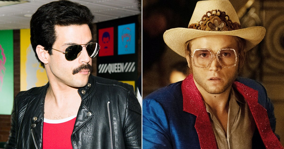 Rami Malek's Freddie Mercury Cameo in Rocketman | POPSUGAR Entertainment UK