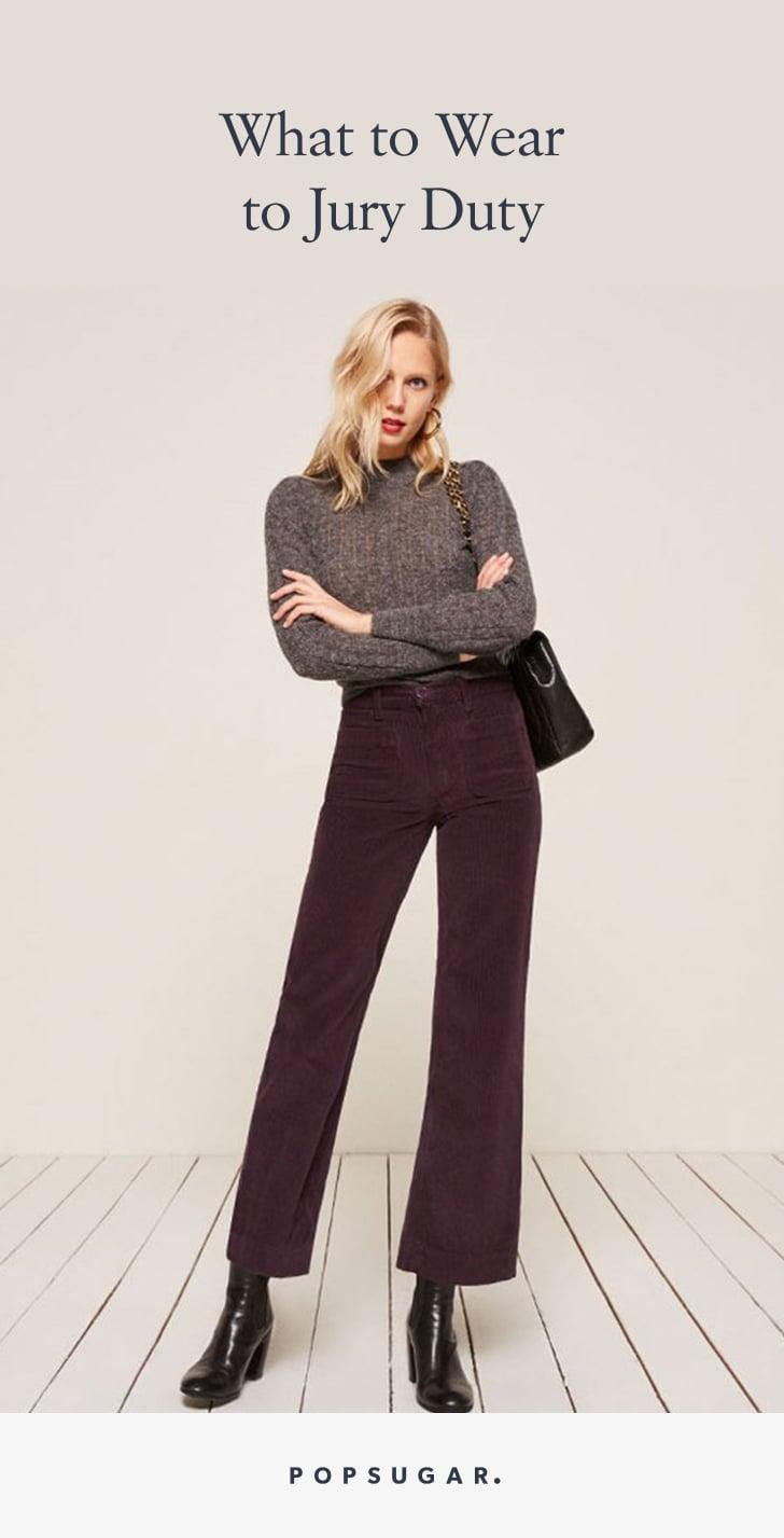 What to Wear to Jury Duty | POPSUGAR Fashion