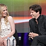 Anna Paquin and Stephen Moyer shared a stage and laughed together at the Summer TCA in July 2011.