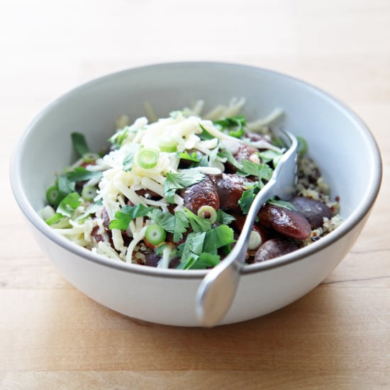 Chipotle Black Bean Quinoa Salad Bowl Recipe