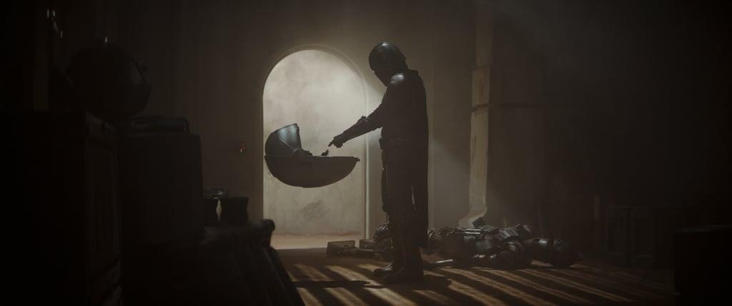 Baby Yoda in The Mandalorian Chapter 1