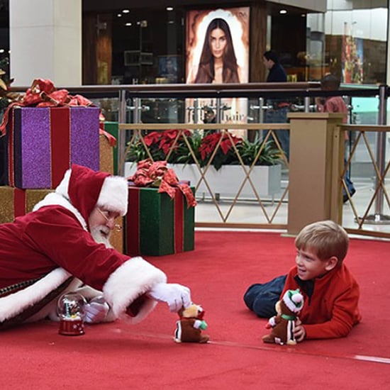 Heartwarming Mall Santa Interactions