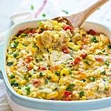 Cheesy Corn Quinoa Casserole With Chicken