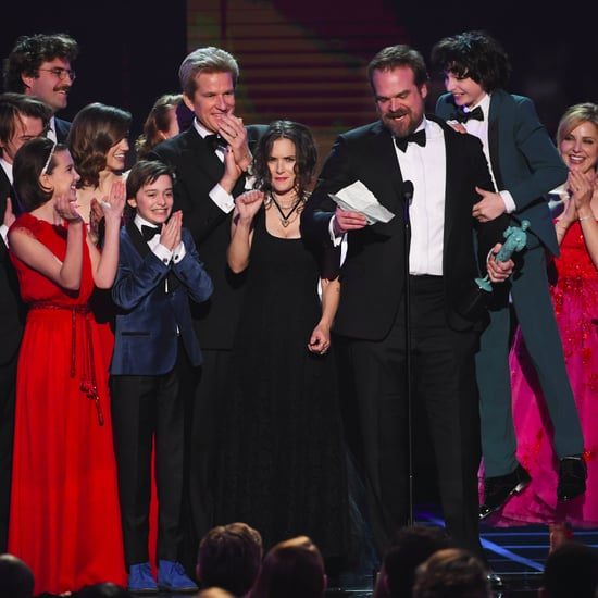 Strangers Things Cast Speech Video at the 2017 SAG Awards