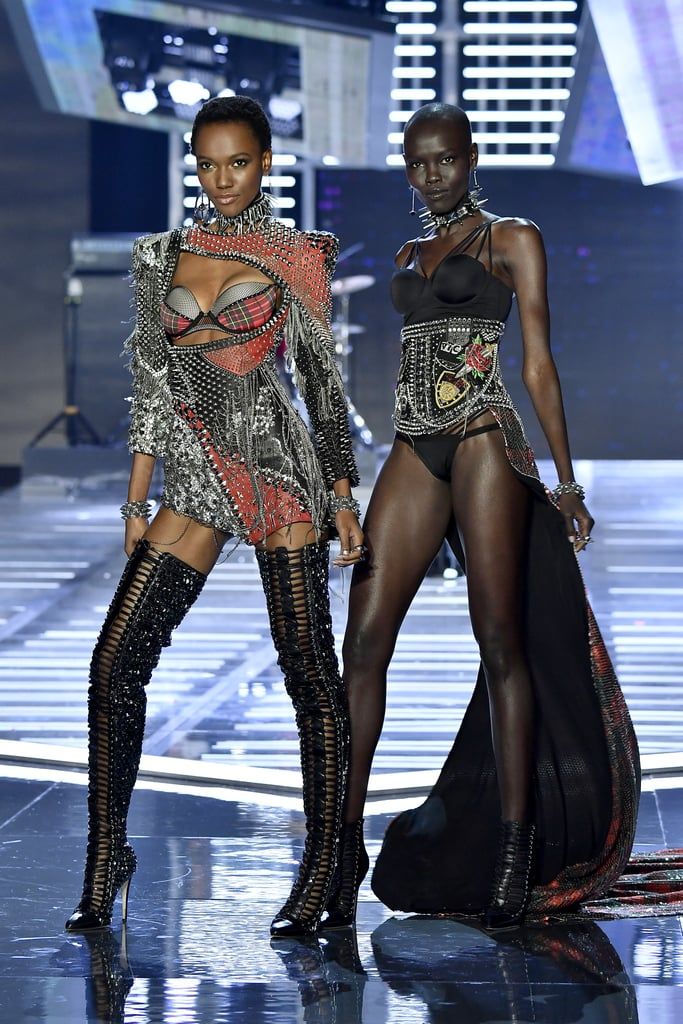 Pictured: Herieth Paul and Grace Bol