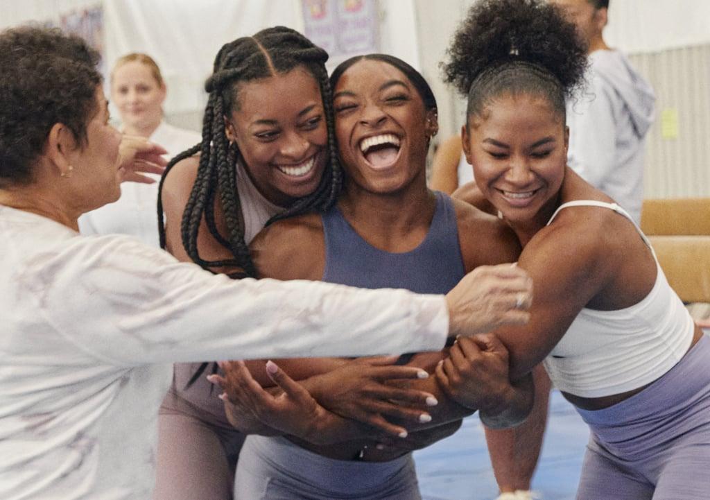 Simone Biles's Power of She, Power of We Athleta Campaign Photos