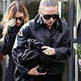 Mary-Kate Olsen in Paris
