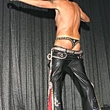 """""""The World's Oldest Male Stripper"""" Bernie Barker (pictured here at 66) shook his behind while performing with the Chippendales in Vegas in 2006."""