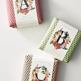 Holiday Monogram Bar Soap