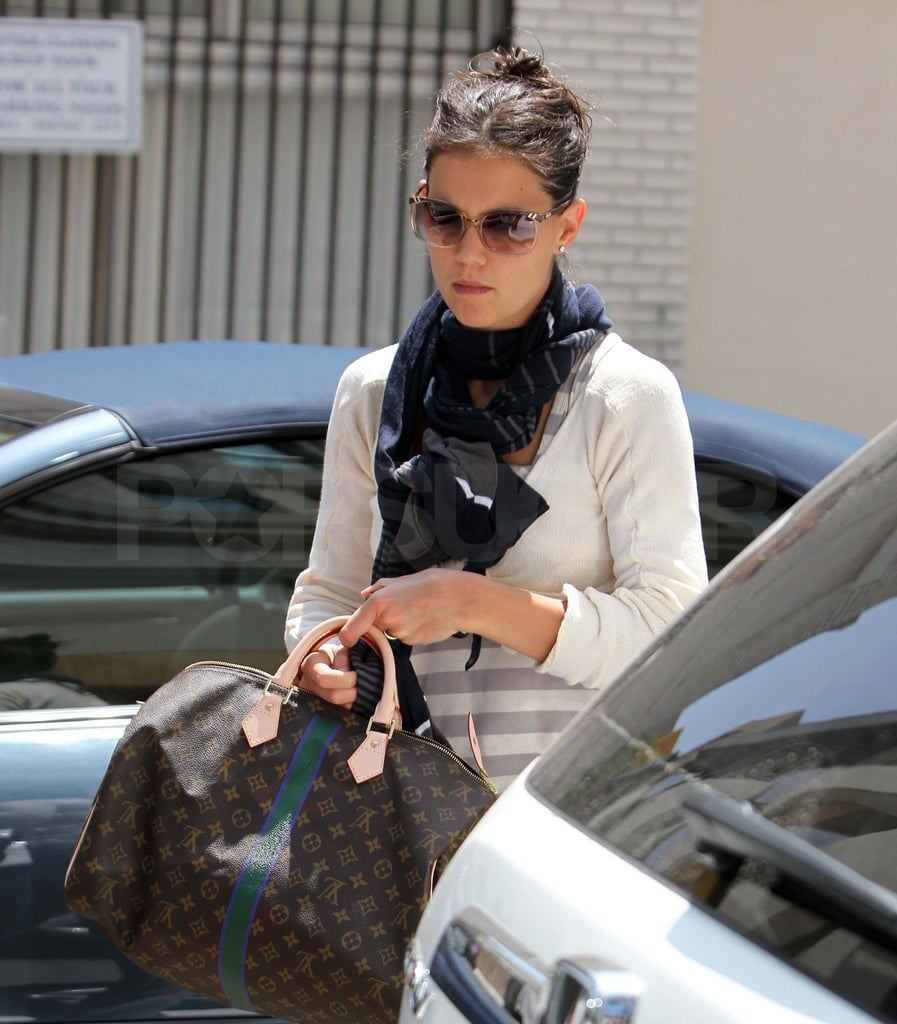 Pictures of Katie Holmes Going to Dance Studio