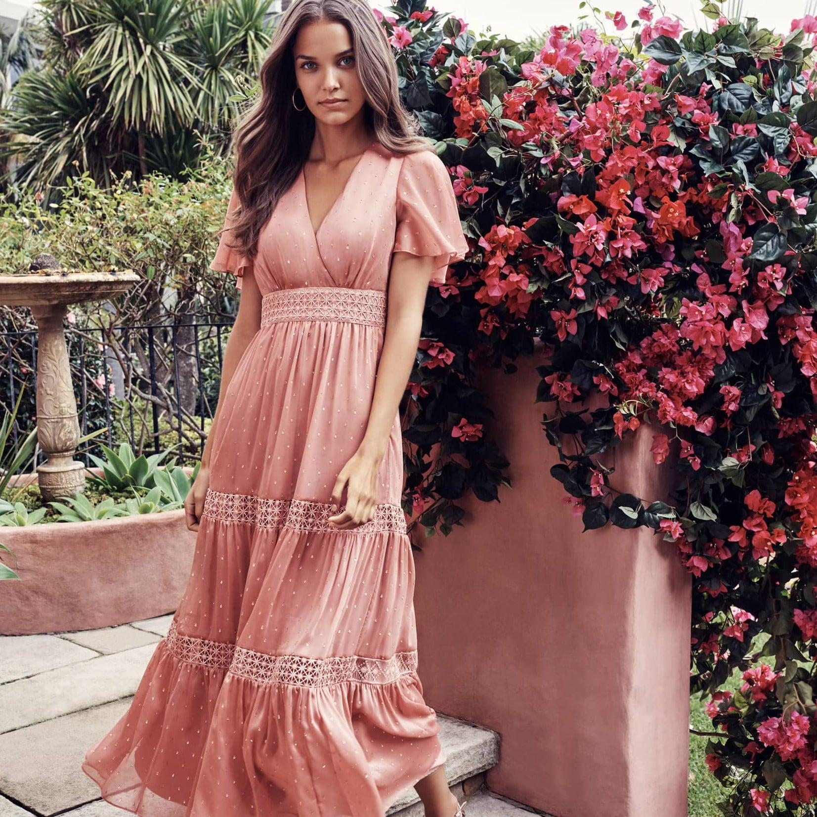 500f3495 Bardot Gemma Halter Lace Sheath Dress | Summer Dresses on Sale at Nordstrom  2019 | POPSUGAR Fashion Photo 13