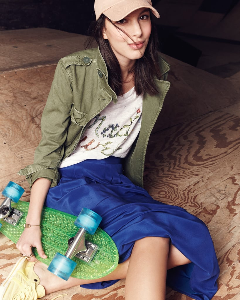 Ruby Aldridge and Catherine McNeil Face Off For Madewell's Spring '13 Installment