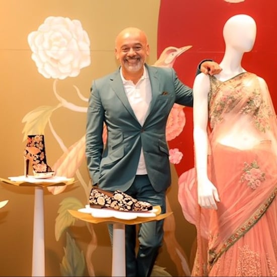 Christian Louboutin x Sabyasachi Launches at Dubai Mall