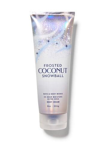 Bath & Body Works Frosted Coconut Snowball Ultra Shea Body Cream