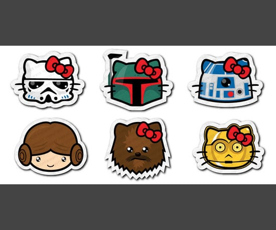 9. Hello Wars: Star Wars and Hello Kitty Mashed Up, Adorable