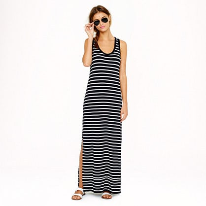 J.Crew Striped Maxi Dress
