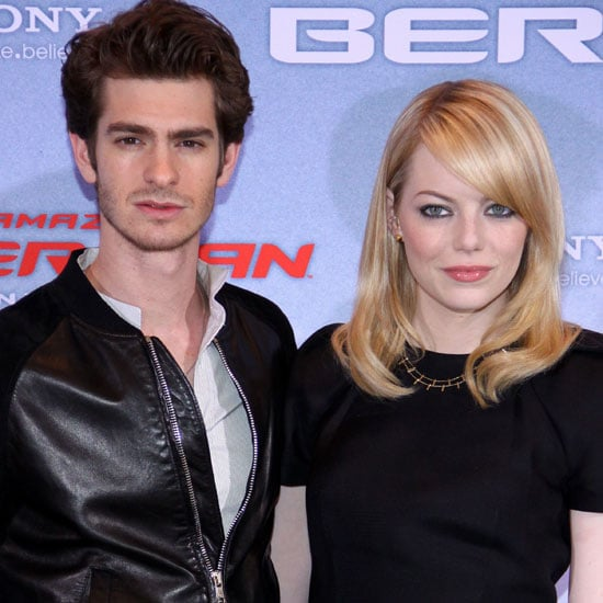 Emma Stone Andrew Garfield Spider-Man Pictures