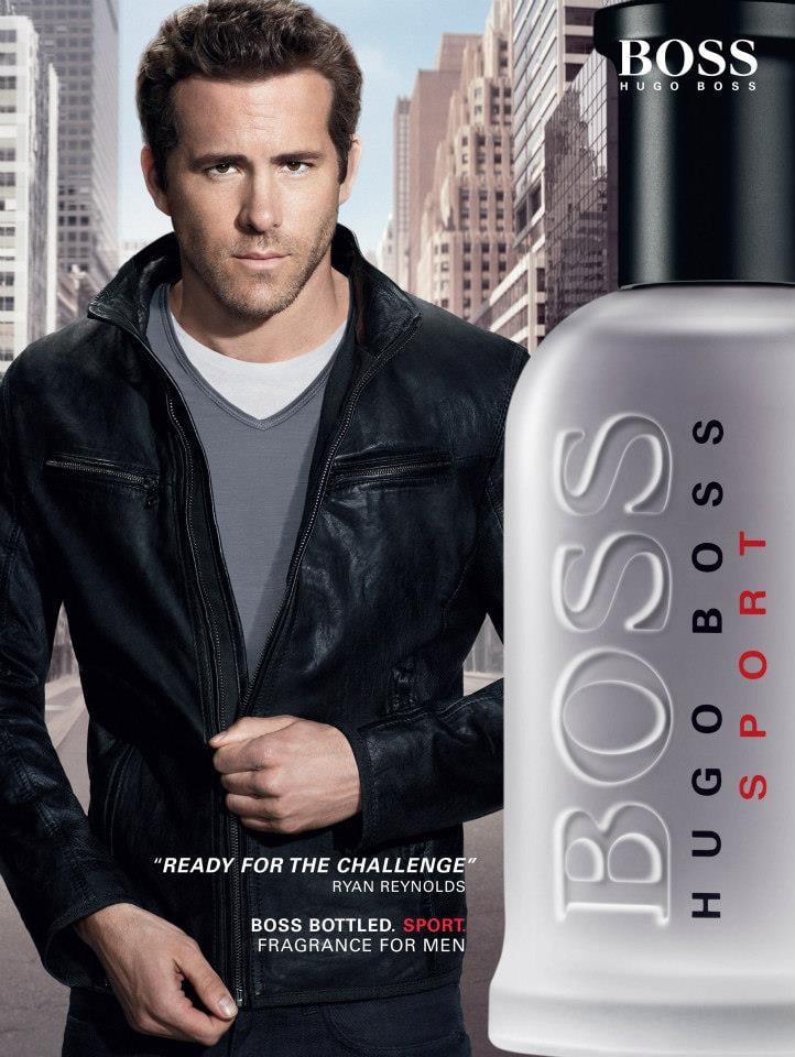 Ryan Reynolds For Hugo Boss