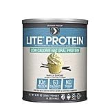 Ice Cream In Birthday Cake Designer Protein Lite Vanilla Cupcake