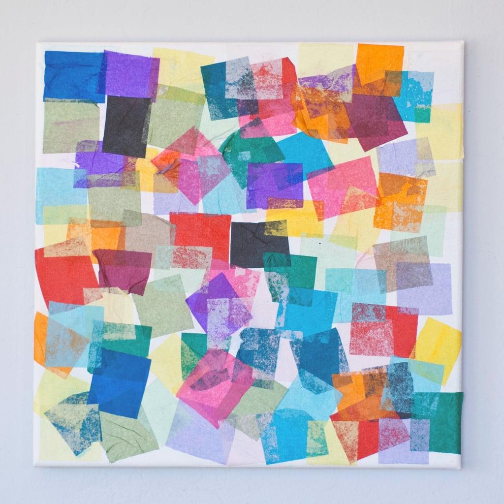 Crafts Using Tissue Paper Squares