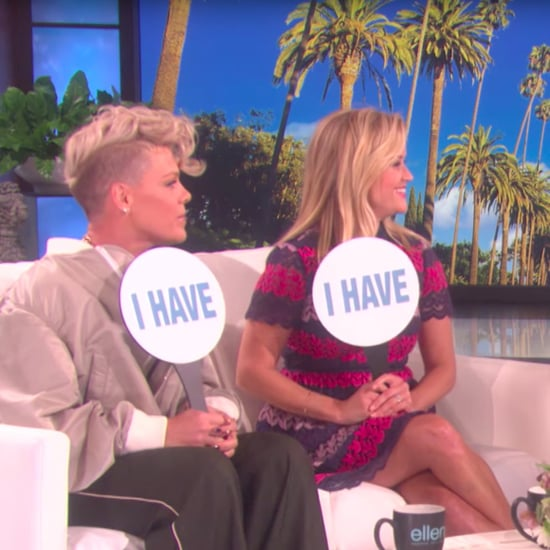 Pink and Reese Witherspoon on The Ellen DeGeneres Show Video