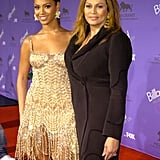 These two could pass as sisters at the 2003 Billboard Music Awards in Las Vegas.