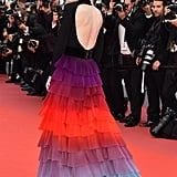 Cate Blanchett Rainbow Givenchy Dress Cannes 2018