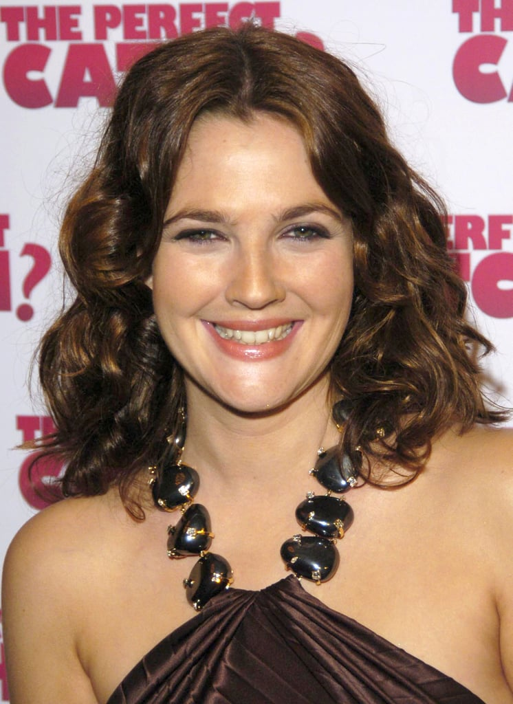 Drew Barrymore Celebrities With The Clavicut Hairstyle Popsugar