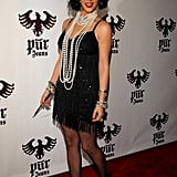 Kim Kardashian was a flapper girl in 2008.