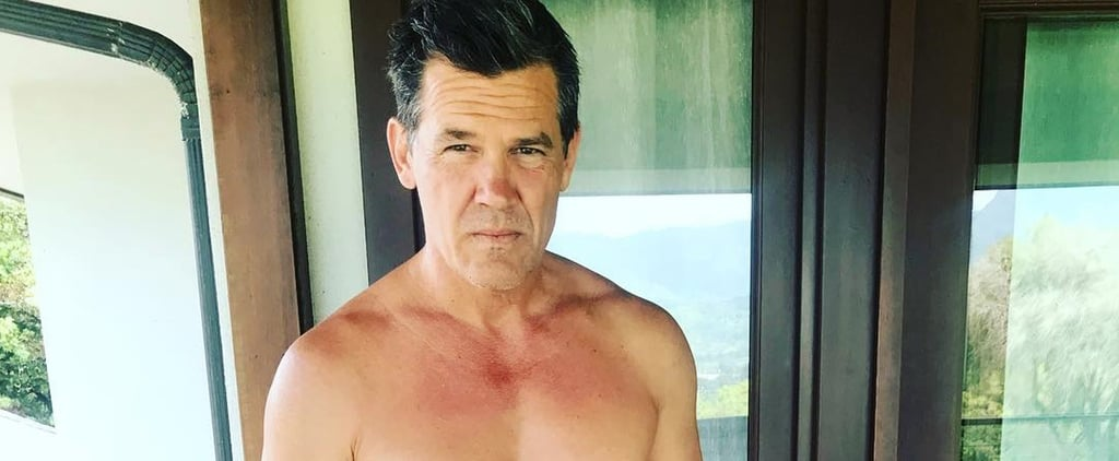 Josh Brolin Shirtless Instagram Photos