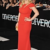 Kate Winslet at the Divergent premiere in LA.