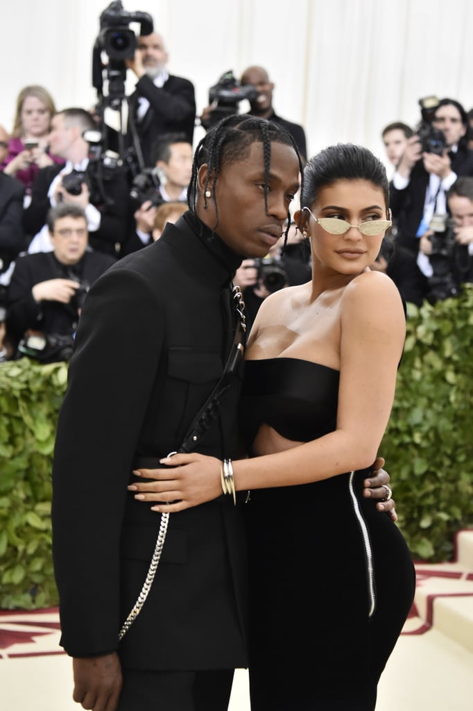 Kylie Jenner and Travis Scott at the 2018 Met Gala