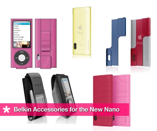 Belkin Accessories For the New Nano