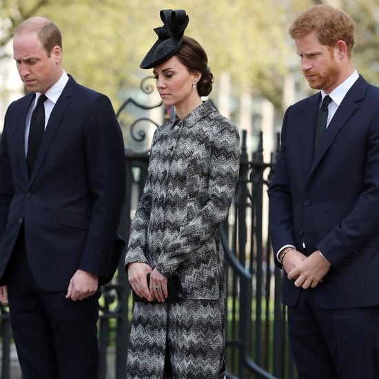 The British Royals at London Terror Attack Church Service