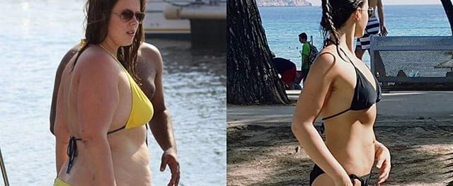 110-Pound Weight-Loss Transformation