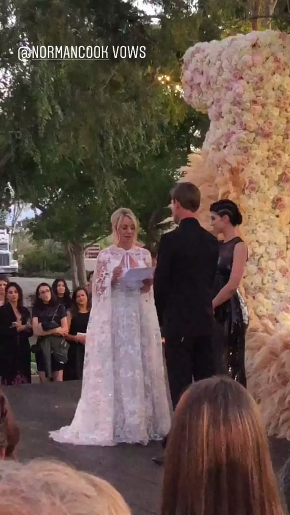 536a13262e3 Kaley Cuoco and Karl Cook Wedding Pictures
