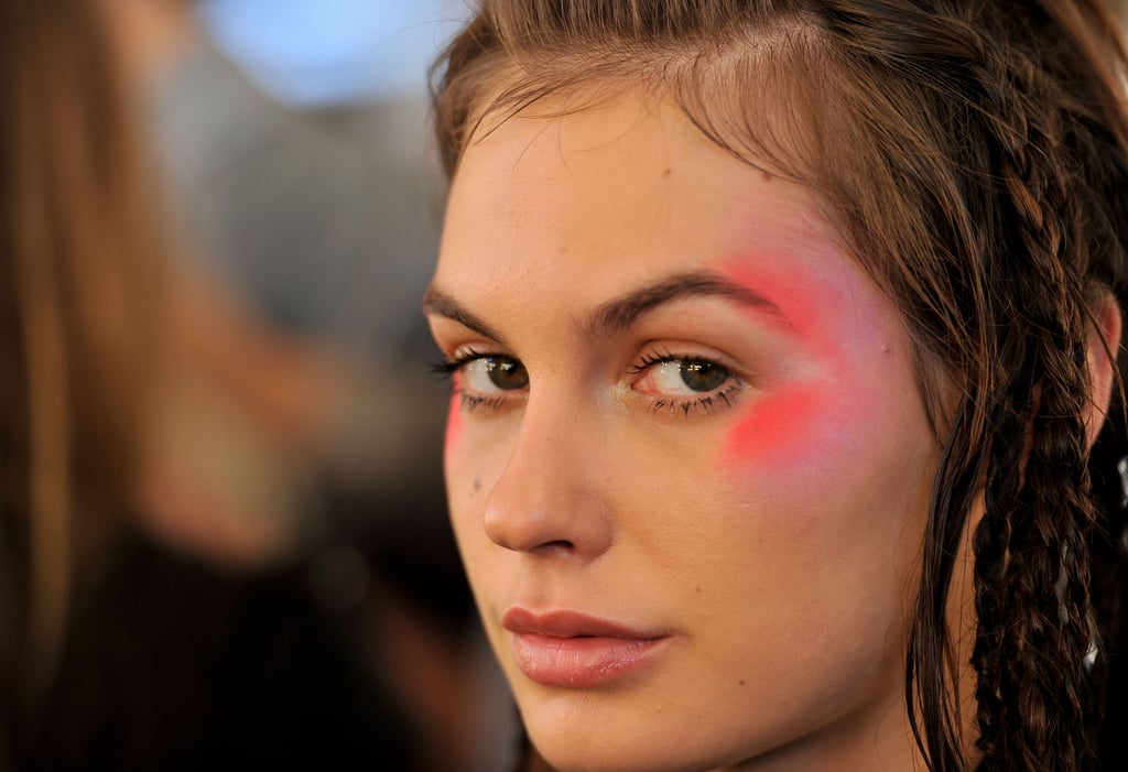 Photos of Makeup Backstage at Alice McCall's Show at RAFW 2010