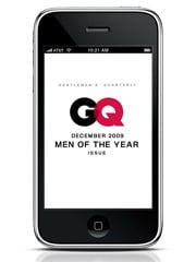 GQ To Launch December Issue on Newsstands and at the App Store