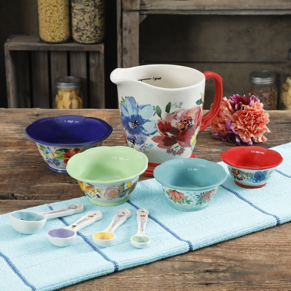 The Pioneer Woman Spring Bouquet Nine-Piece Prep Set